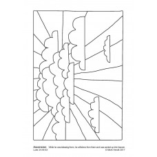 Prayerful Colouring Ascension (PDF)
