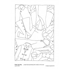 Prayerful Colouring Palm Sunday (PDF)