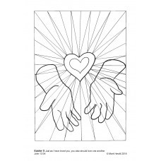 Prayerful Colouring Easter 5 (PDF)