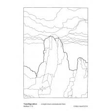 Prayerful Colouring Transfiguration (PDF)