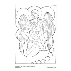 Prayerful Colouring Advent 4 (PDF)