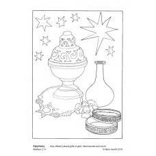 Prayerful Colouring Epiphany (PDF)