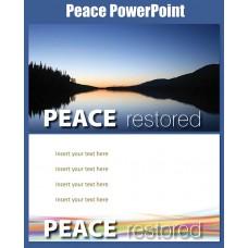Peace PowerPoint Wide Screen